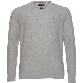 Tommy Hilfiger Big Tall V-Ausschnitt-Pullover Big FINE STRUCTURED V-NECK