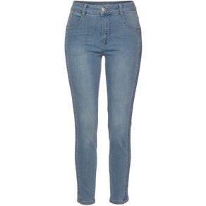GANG Skinny-fit-Jeans Ina Stripe mit Kontrastfarbenen Seitenstreifen
