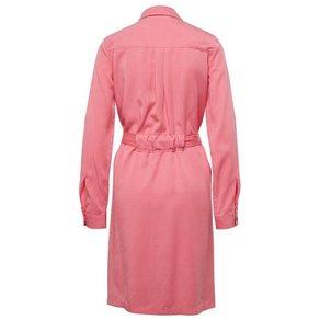 TOM TAILOR Hemdblusenkleid Kleid mit Stoffgürtel