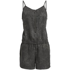 khujo Jumpsuit SHONA EASY JUNGLE AOP mit Reissverschluss und Print