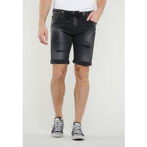 Le Temps Des Cerises Shorts mit leichter Waschung