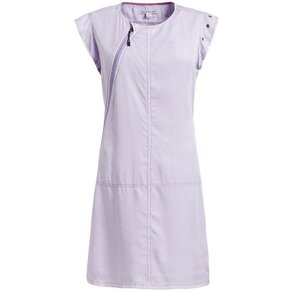 khujo A-Linien-Kleid ARJUNA mit asymmetrischem Reissverschluss und Ösendetails