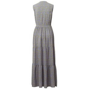 TOM TAILOR Denim Maxikleid Gemustertes Maxi-Kleid