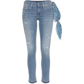 Replay Skinny-fit-Jeans LUZ OPEN LEGS im angesagten Used-Look
