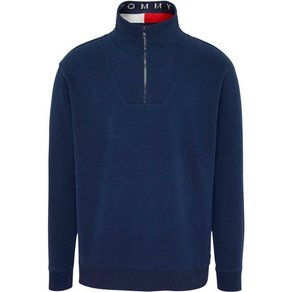 TOMMY JEANS Sweatshirt TJM SOLID ZIP MOCK NECK