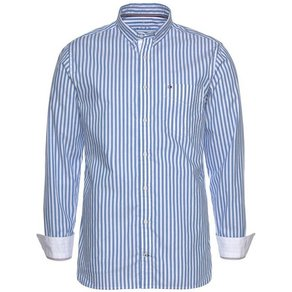 Tommy Hilfiger Hemd ORGANIC OXFORD STRIPE SHIRT