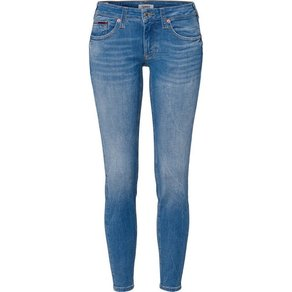 TOMMY JEANS Skinny-fit-Jeans LOW RISE SKINNY SOPHIE CNYL mit cooler Waschung und Used-Effekt