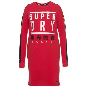 Superdry Sweatkleid PANEL GRAPHIC SWEAT DRESS im sportiven Athleisure-Look