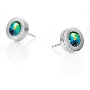 Heideman Paar Ohrhänger Colori mit Austauschbaren Swarovski-Kristallen