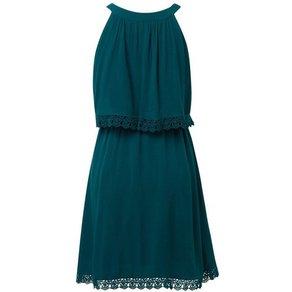TOM TAILOR Denim Sommerkleid Kleid mit Spitzendetails