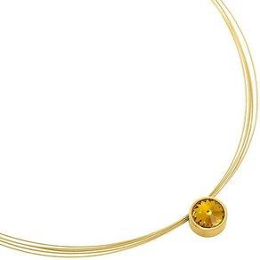 Heideman Kettenanhänger Coma 13 Gold mit Stein von Swarovski