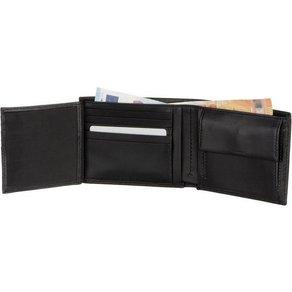 Calvin Klein Geldbörse Smooth With Plaque 10CC Coin Wallet