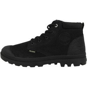 Palladium Pampa Lo Cuff Leather Schnürboots