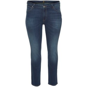 Lee Plus Straight-Jeans Marion Mid Waist