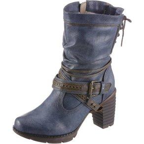 mustang shoes Mustang Shoes Winterstiefel mit auffälligem Absatz