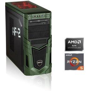 Hyrican Gaming PC Ryzen 5 2600, 16GB, 480GB, GeForce GTX 1650, oBS »Gaming 6355«