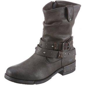 mustang shoes Mustang Shoes Bikerboots mit Schnallen verziert