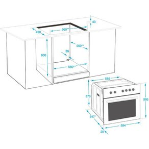 Beko Elektro-Herd-Set MHS 22322 Simple Steam Reinigungsfunktion