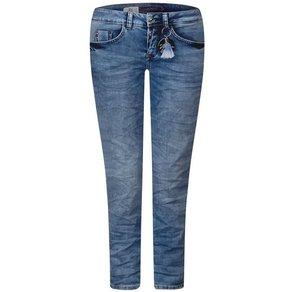 STREET ONE Comfort-fit-Jeans mit Schlüsselanhänger