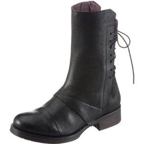 Brako Stiefel mit Zierschnürung am Schaft