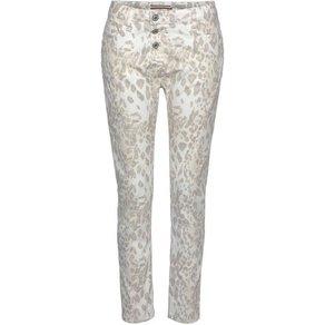 Please Jeans 7 8-Hose P36H mit Botanic-Druck
