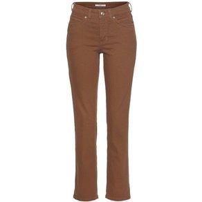 MAC Straight-Jeans Angela New Ziernähte im vorderen Taschenbereich
