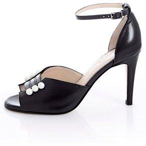 Alba Moda Sandalette mit Schmuckperlen