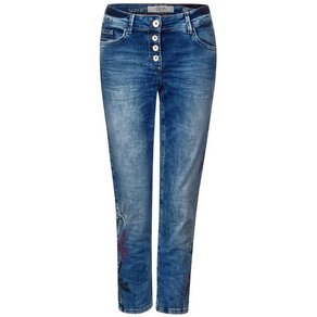 cecil Loose-fit-Jeans mit Stickerei