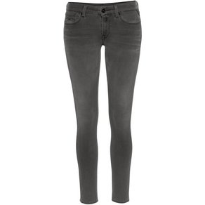 Replay Skinny-fit-Jeans LUZ HPF aus extravagantem Materialmix