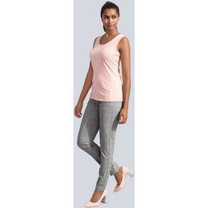 Alba Moda Hose mit seitlichen Zipper-Taschen