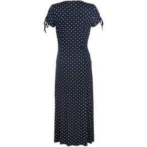 Alba Moda Jerseykleid mit femininer Raffung vorne