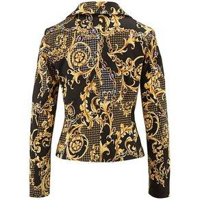 Alba Moda Bikerjacke mit Zipperdetails
