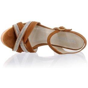 Alba Moda Sandalette mit Strassapplikationen