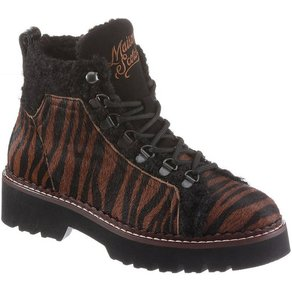 Scotch Soda Schnürboots mit Animal-Print