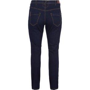 Zizzi Slim-fit-Jeans Damen Grosse Grössen Jeans Slim Fit Molly High Waist Jeanshose Hose