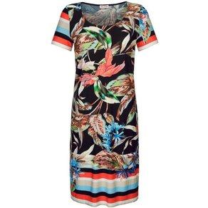 Alba Moda Strandkleid mit Blumendruck