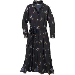 GMK Curvy Collection Blusenkleid mit Bindeband für die Taille