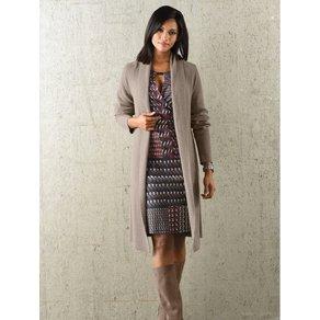 Alba Moda Jerseykleid in farblich harmonischem Grafikprint