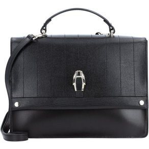 Roberto Cavalli Class Dauphine Handtasche Leder 30 cm