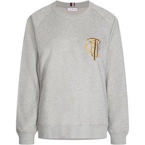 Tommy Hilfiger TOMMY HILFIGER Sweatshirt mit toller Stickerei auf der Brust
