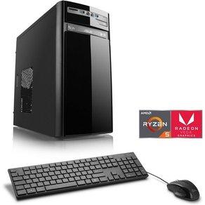 Csl Multimedia PC AMD Ryzen 5 3400G Vega 11 8 GB DDR4 SSD Sprint T8399 Windows 10 Home
