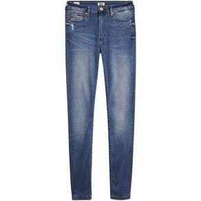 TOMMY JEANS Skinny-fit-Jeans »TJ2008« mit Scratches & Tommy Jeans Logo