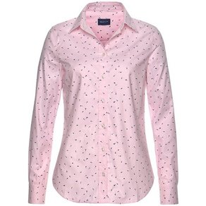 Gant Hemdbluse mit verspieltem Tupfen-Design