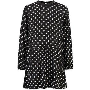 Garcia A-Linien-Kleid mit Punkten
