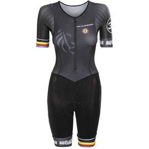 Bioracer Triathlonbekleidung Van Vlaanderen Trisuit SS Damen
