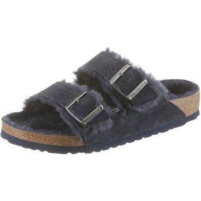 Birkenstock ARIZONA Pantolette mit Schurwollfutter in normaler Schuhweite
