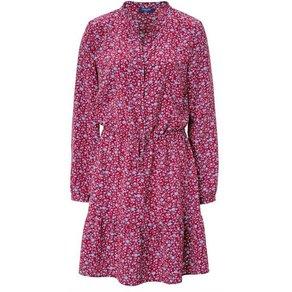 Conleys Blue Kleid Mit Taillierung