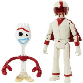 Mattel Toy Story 4 Basis Figuren Forky Caboom