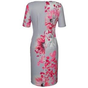 Alba Moda Kleid mit Blumendessin