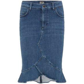 mustang Jeans Midirock Flouncy Denim Skirt